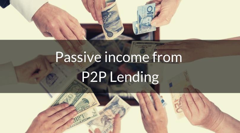 Passive income from P2P lending