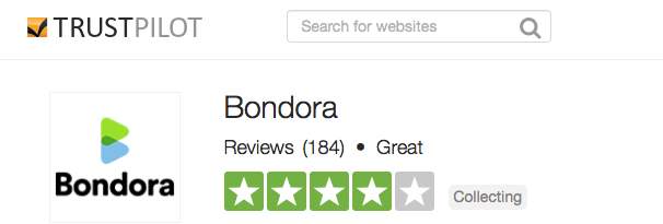 The global reviews on Bondora are good on trustpilot.com