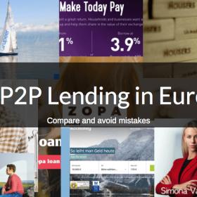 compare good p2p lending website europe