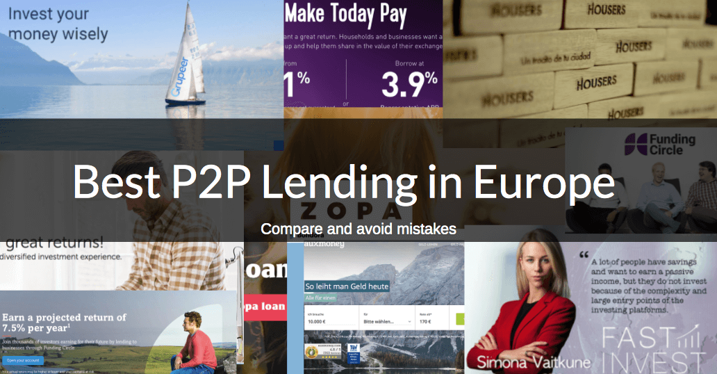 compare good p2p lending website europe