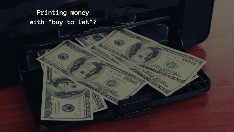 Printing money (money printer)