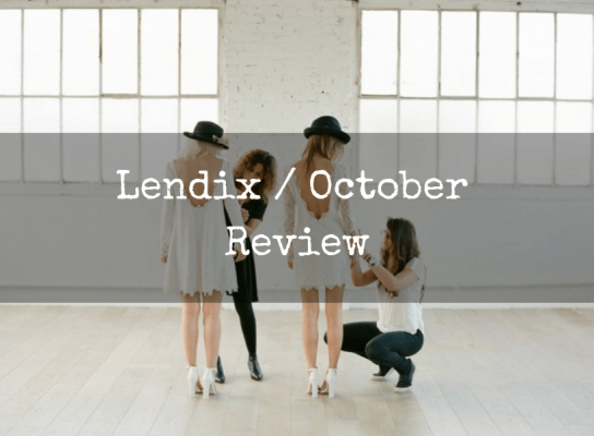 Lendix october review risk revard invest