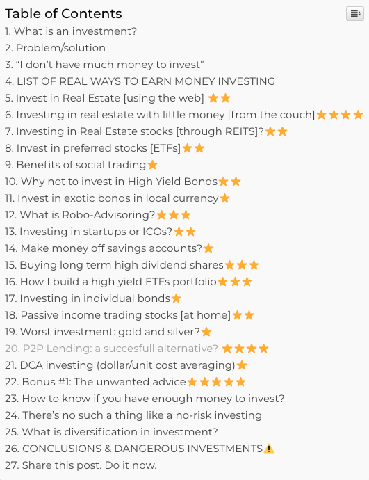 RevenueLand total guide on how to invest money