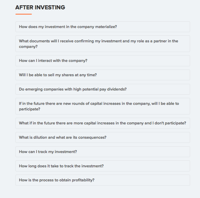 How to safely invest in startup