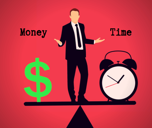 Trading time for money revenue land