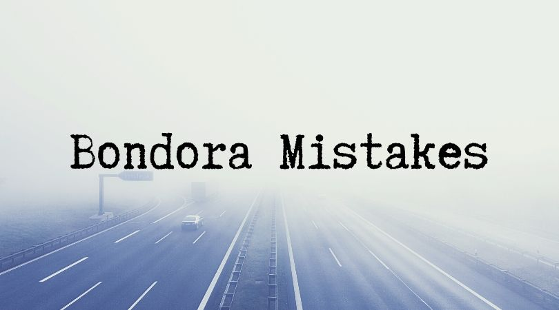 Bondora Mistakes