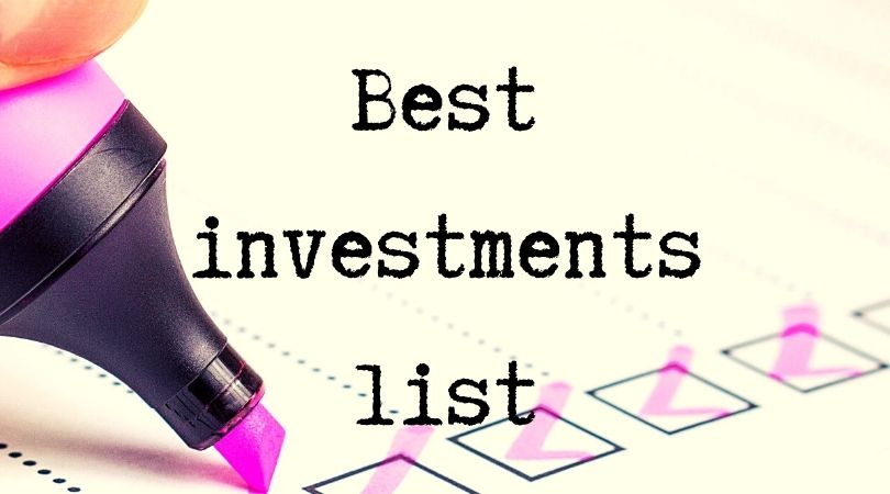 Best investments list