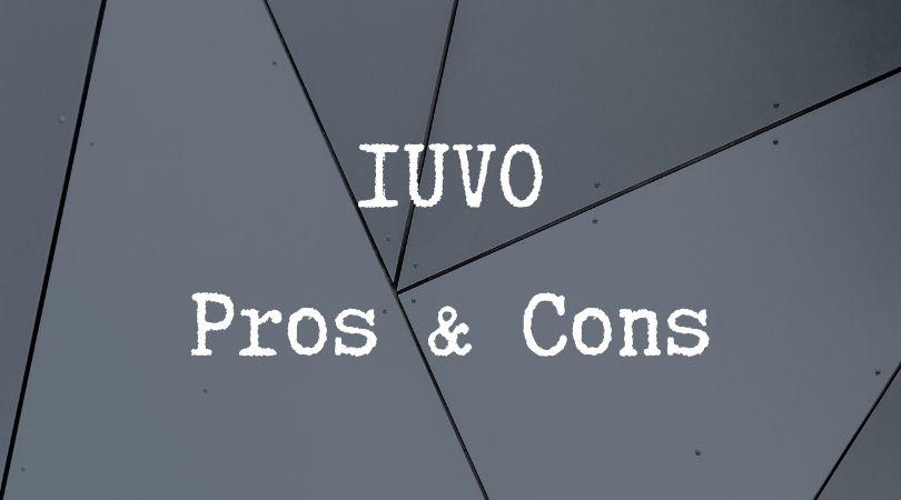 IUVO Pros & cons