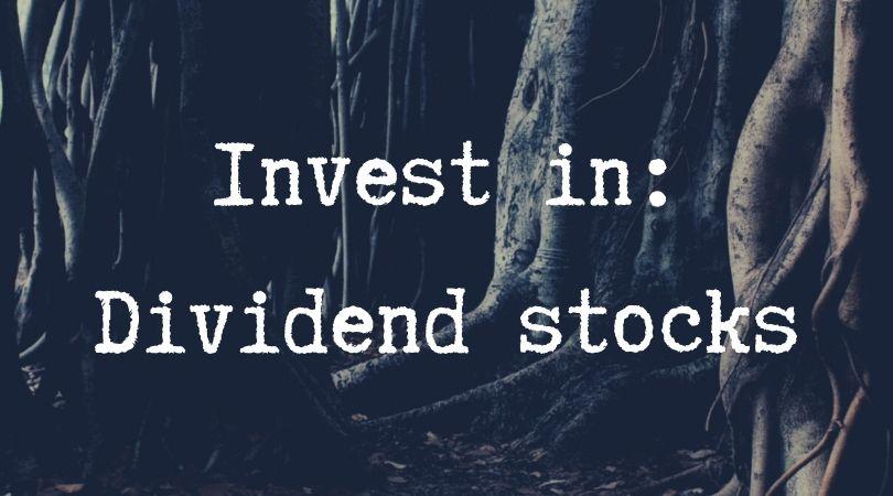invest in Dividend stocks