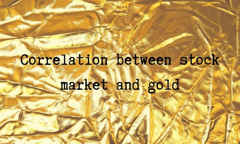 correlation stocks gold sp500