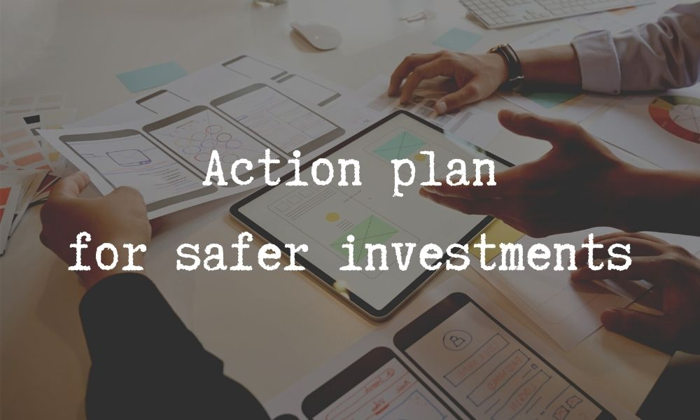 plan to invest safely