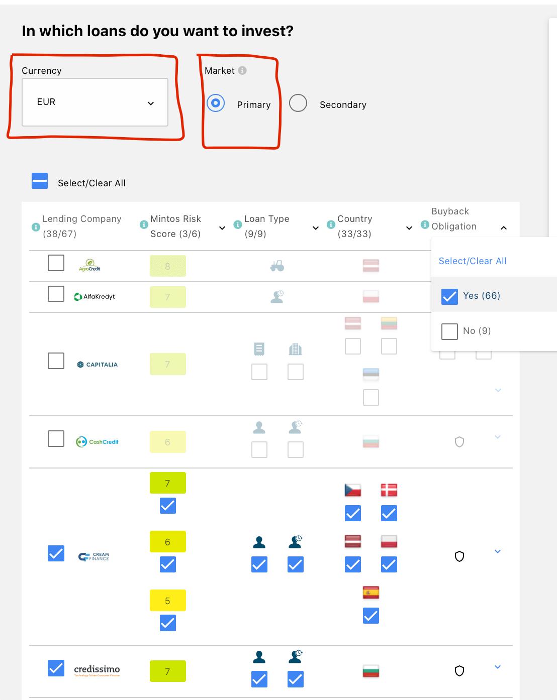 mintos-setup-custom