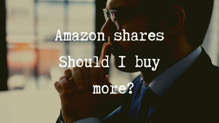 Amazon shares Should I buy more_